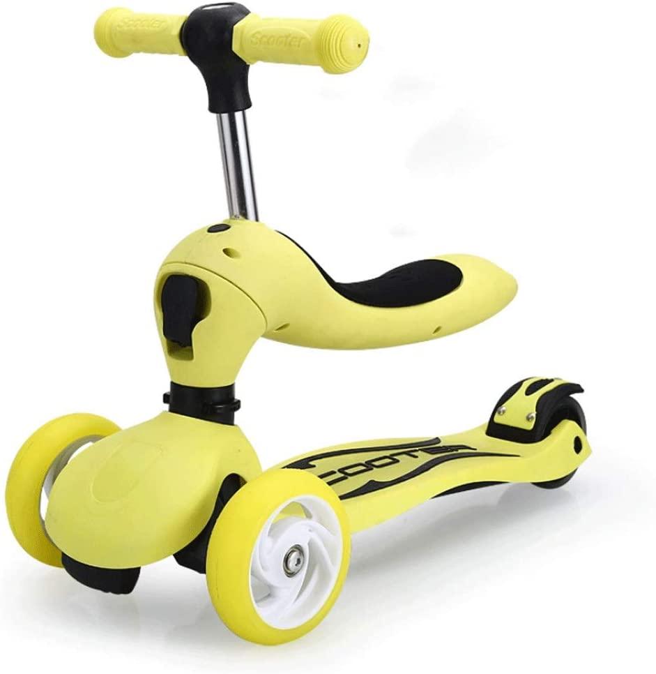 Baby Kids Children Toddler 2-8 years Sliding Stroller Two In One Convertible Balance Bike