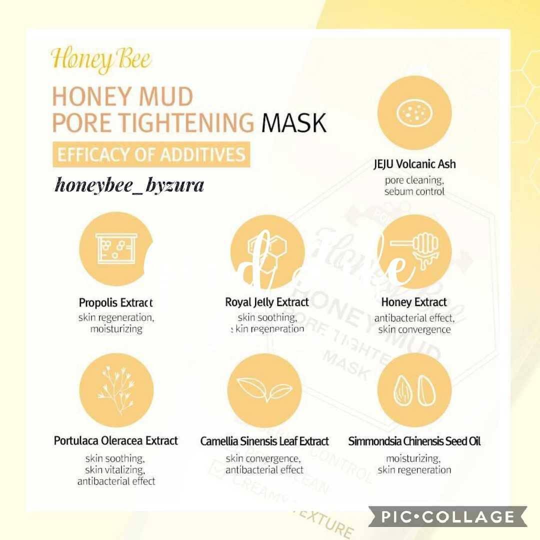 True Island Honey Bee Mud Pore Tightening Mask 60ml